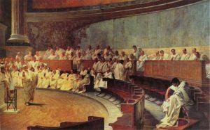 Cícero acusa Catilina